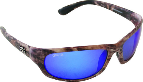 Steelhead Sunglasses True Timber/Blue Mirror 63mm Lens
