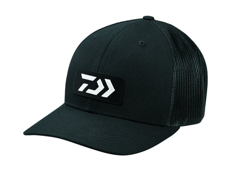 Dvec Trucker Cap With Balck Black Logo