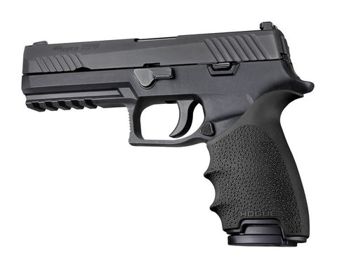 HandAll Beavertail Grip Sleeve Sig Sauer P320 Black