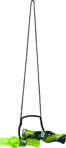 Double Call Lanyard