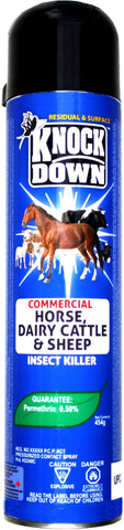 Horse, Dairy Cattle & Sheep Insect Killer, 0.20% Permethrin, 525g Aerosol