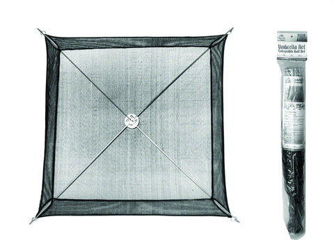 "Umbrella Mino Net 35""x37"" Fold Down To 4""x27"" for easy storage and transport"