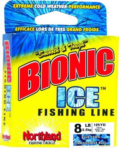 Bionic Ice Line 4lb 125Yd Clear