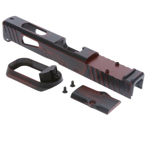 Faction Series Kit - Slide & Magwell Only - Glock G17 Gen4 Rmr - Ready Red