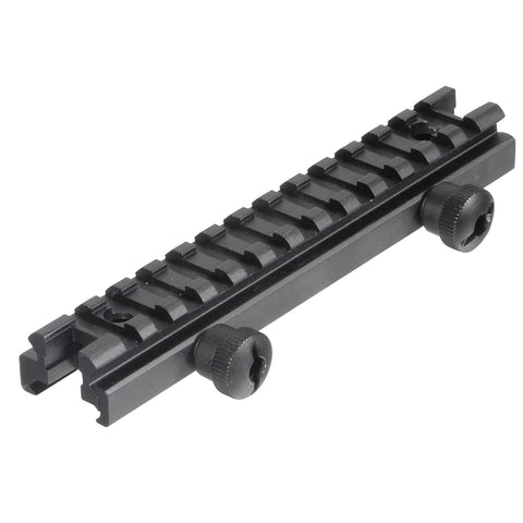 "Low-profile Full Size Riser Mount, 0.5"" High, 13 Slots"