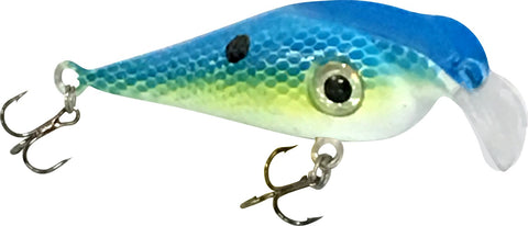 "Fusion Extreme Lure 2.25"" Blue Tiger"