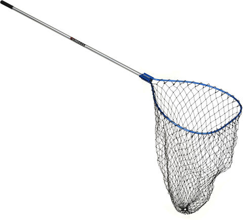 "Klamath Landing Net 26""x34"" Hoop Coated Bag 4' Handle, 2pcs"