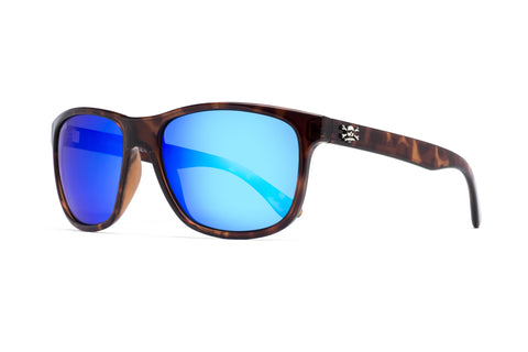 Catalina Sunglasses Tort/ Blue Mirror 58mm Lens