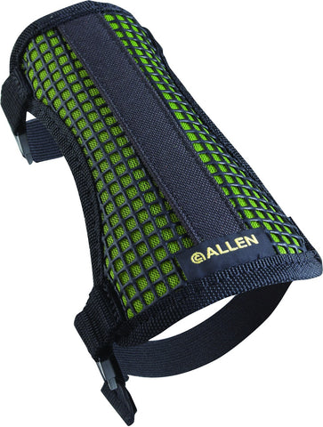 Mesh Armguard, Black With Green Mesh