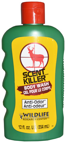Scent Killer Body Wash & Shampoo (bulk) BI-LINGUAL, 12 FL OZ
