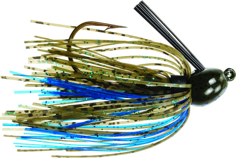 Bitsy Bug Mini Jig, 1/8 oz, Green Crawfish,1pk