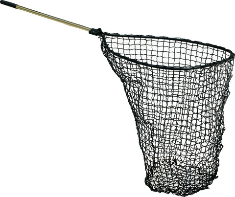 "Power Catch Net 32x41 Teardrop 48"" Sld Hndl Knotless"