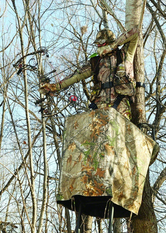 Easy Fit Treestand Skirt 32 high x 50 long, Realtree Xtra