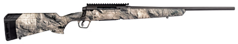 "Axis II Bolt Action Rifle, 243 Win, 20"" Bbl, DBM, Gray Finish, Overwatch Camo Stock, 4+1 Rnd, Picatinny Rail"