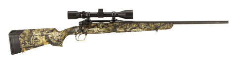 "Axis XP Bolt Action Rifle, 6.5 Creed., 22"" Bbl, Black, Mossy Oak Break Up Country,  3-9x40 Scope, 4+1 Rnd"