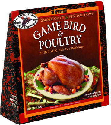 Game Bird/Poultry Brine Brine Mix