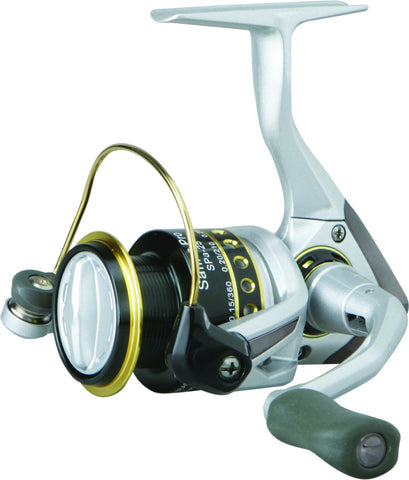 Safina Pro Spinning Reel, 3BB + 1RB, 5.0:1 Ratio, Alum Spool, Mono 2/210, 4/110, 6/70