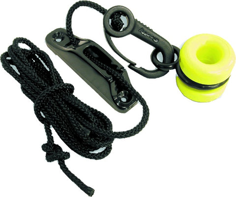 Downrigger Weight Retriever, w/ Snap, Fairlead Cleat and 78 of Cord