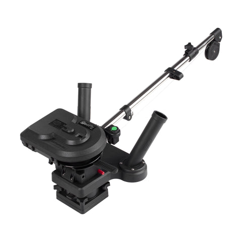 ProPack Depthpower Electric Downrigger, 60 Tele. Boom, w/ Swivel Base, Dual Rod Holders, 2 Line Releases, & Weight Hook