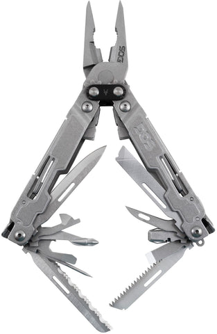 PowerAccess Deluxe Multi Tool,  Bead Blast Finish, 20 Tools