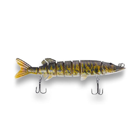 "Pike Bomb Lure 5"" - Fire Tiger"