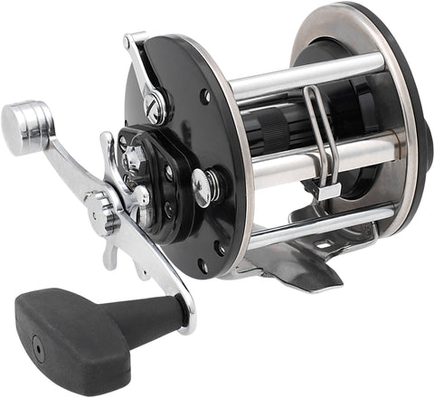 Conventional Reel, RH, 3.4:1 Ratio, Alum Spool, Braid 20/470, 30/350, Mono 15/250, 17/220