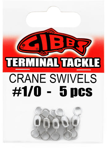 Crane Swivels #1/0, 5 pc
