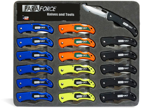 ParaForce Lockback Knife 18 Piece Display
