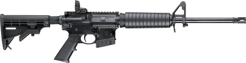 M&P 15 Sport Rifle 5.56 5rd Black w/dust cover & MagPul Rear Sight