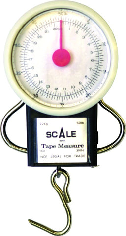 Scale 50Lb Dial w/Tape