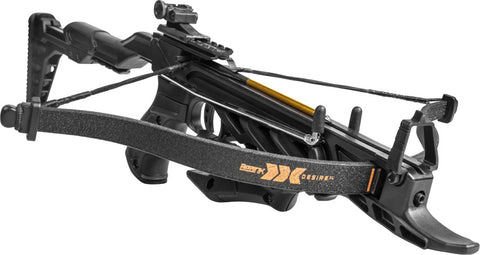 Desire XL Compact Pistol Crossbow, Self Cocking Arm , up to 175 Fps, Includes Three Bolts, Canada Legal