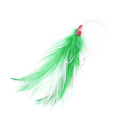 Mackerel Rig, #3/0, Green/White