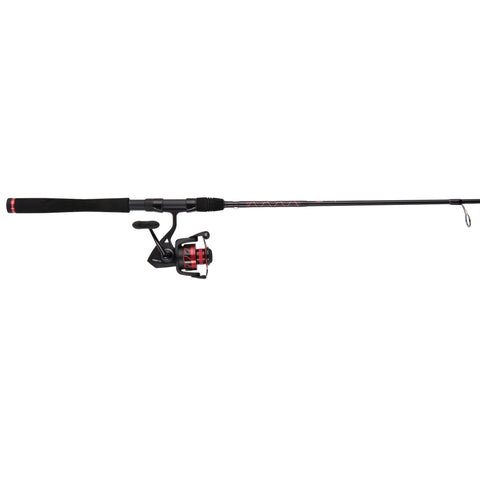 "Fierce III Spinning Combo, 1000 sz 5 Brg. Reel Not Spooled, 6'6"" 1pc Light, Moderate Fast,  EVA Handle"
