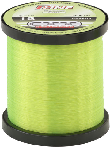 CXX X-Tra Strong Mono Filler Spool 6lb 300yd Moss Green