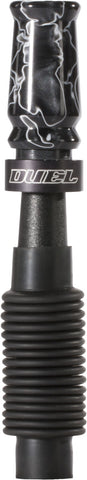 DeerCall Stretchback Elite Grunt Call Acrylic Swirl Black Ghost