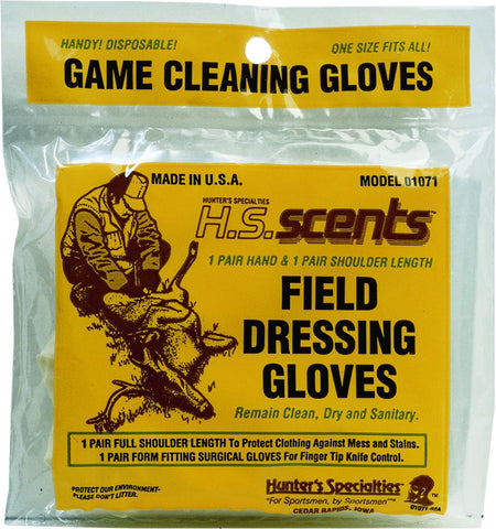 Field Dressing & Gutting Gloves 2-Pair