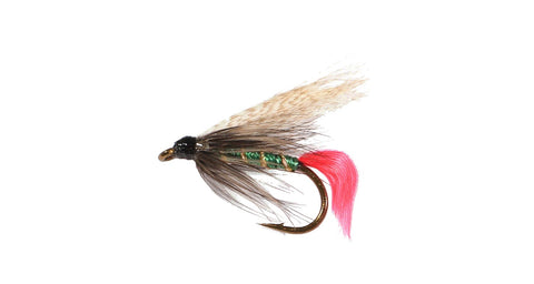 Wet Flies (Snelled), Grizzly King Size H08