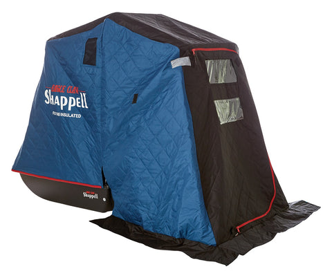 Flip Shelter, 600D Polyester, Front and Rear Window, 1 Person Capacity