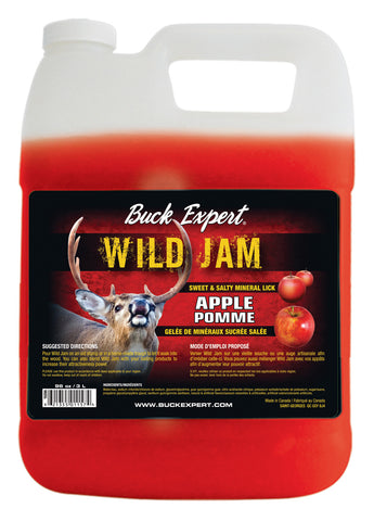 Baiting Products DEER - WILD JAM ''SWEETY SALTY APPLE JELLY 96 OZ - C/PCK - 6