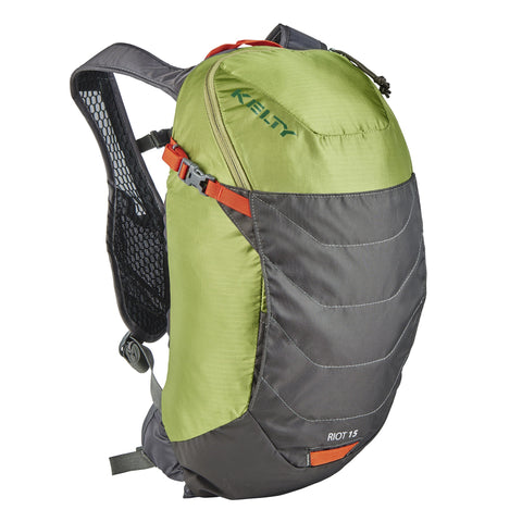 Riot 15 Backpack, 15 Litre, Green, Multi Sport Pack, 1.1 Lbs, One Size Torso