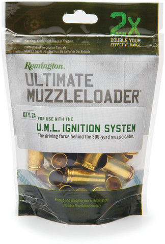 MLZ Ult. Ignition Source Primed Brass Case for M700 Ultimate Muzzle Loader 20 per Bag