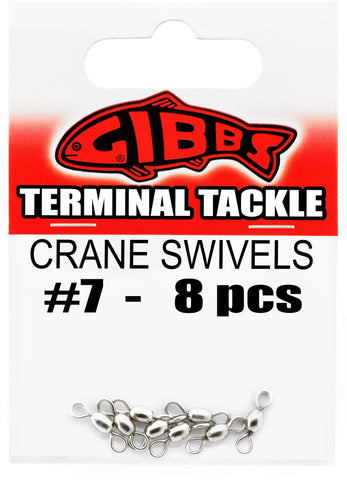 Crane Swivels #7, 8 pc