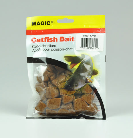 Catfish Bait 6oz Bag Natural Shad