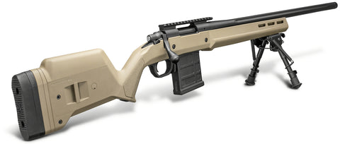 "700 Magpul Bolt Action Rifle 6MM CREED, 20"" Bbl, FDE Hunter Stock, Threaded Muzzle, 10 Rnd, w/ Bipod"