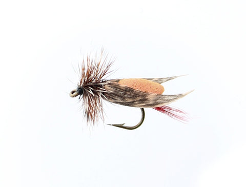 Dry Flies (Snelled), Hopper Foam Size H10