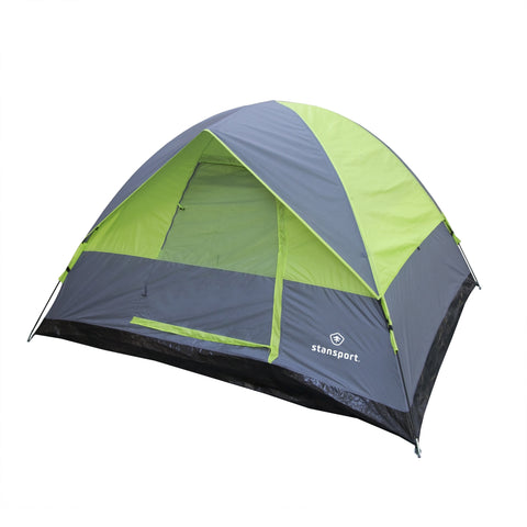 Cedar Creek 3 Season Tent-8 Ft X 7Ft X 54 In-Green/Grey Trim