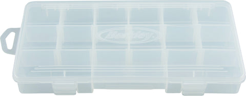 "Tackle Tray, Adjustable Compartments, 14""x8.5""x2 1Pk"