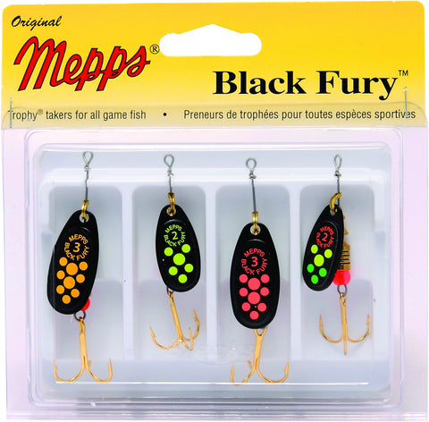 4-Pack Black Fury Kit Assorted