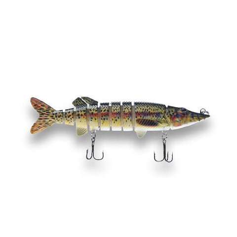 "Pike Bomb Lure 5"" - Bloody Trout"