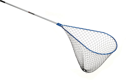 "Landing Net 28"" X 51"" Standard 6' Handle, 2pcs  Blue/Silver"